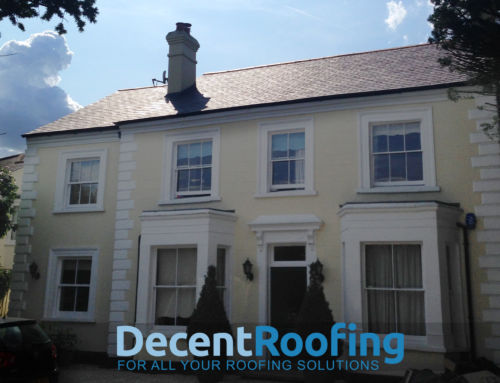 Welsh Slate Roof North London
